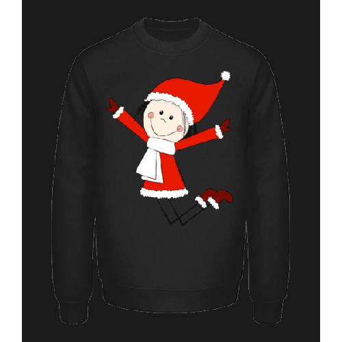Weihnachts Mädchen - Unisex Pullover