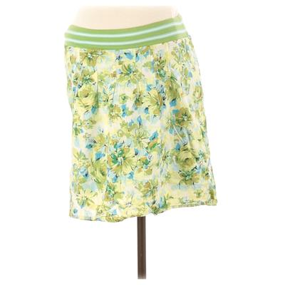 Old Navy Casual Skirt: Green Print Bottoms - Size X-Small Maternity