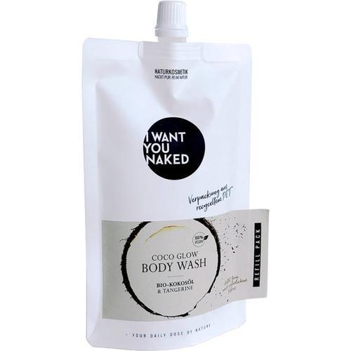 I Want You Naked Coco Glow Body Wash Bio-Kokosöl & Tangerine REFILL 250 ml Duschgel