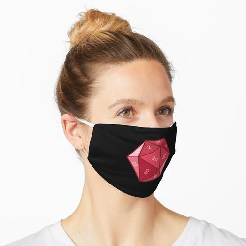 D20 - Rubinrot Maske