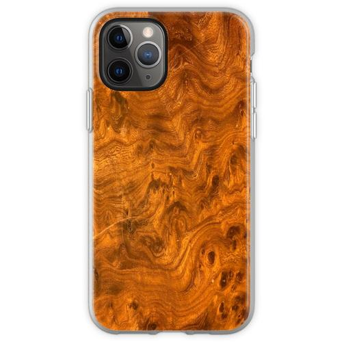Vogelaugenahornholz Flexible Hülle für iPhone 11 Pro