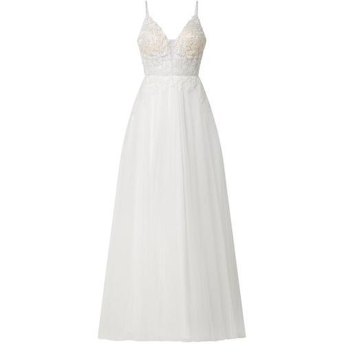 Luxuar Brautkleid aus Mesh