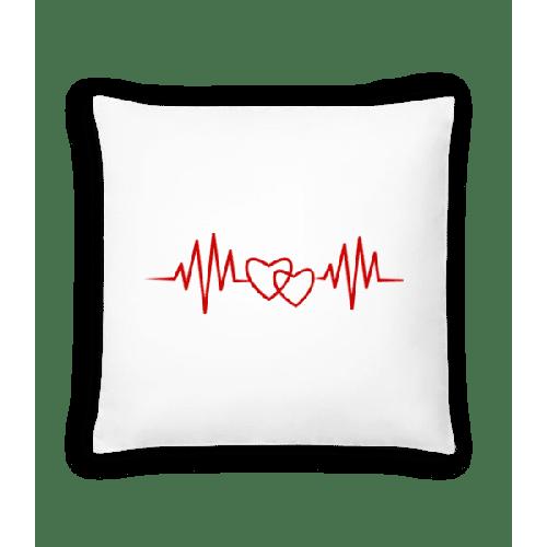 Herzschlag - Kissen