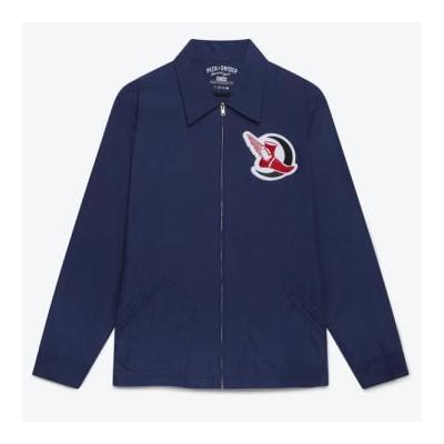 Peck & Snyder - Navy Crescent Athletics Running Club Coach Jacket - XL / Navy