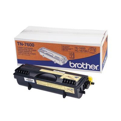 Original Brother HL-1600 NTR (TN-7600) Toner Schwarz