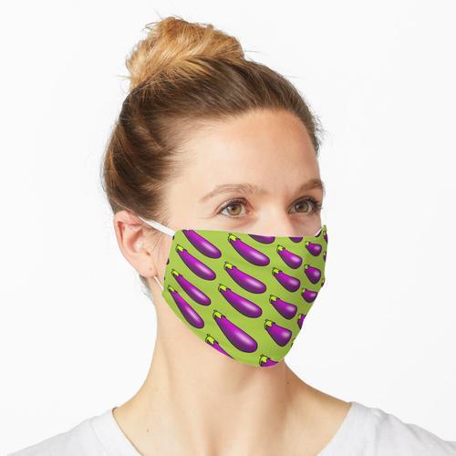 Aubergine - Auberginen Maske