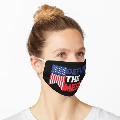 defund die Medienbewegung Maske