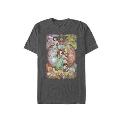 Disney Charcoal Hthr Disney Princess Princess Power T-Shirt