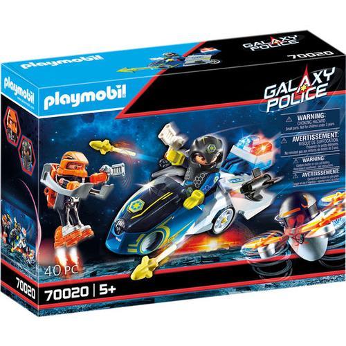 PLAYMOBIL® Galaxy Police 70020 Galaxy Police-Bike, bunt