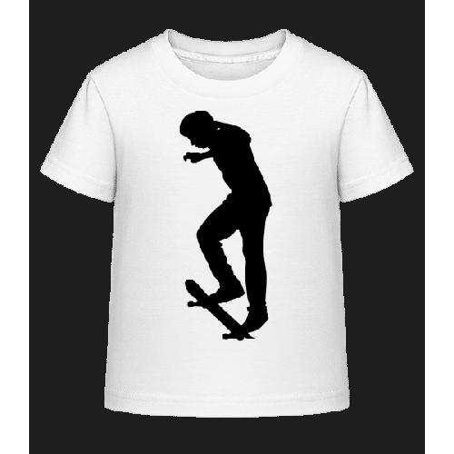 Skateboard Ollie - Kinder Shirtinator T-Shirt