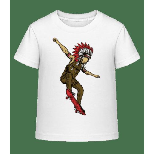 Indian Chief Skateboard - Kinder Shirtinator T-Shirt