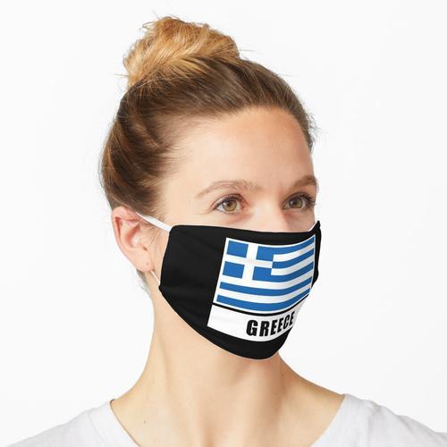 Griechenland Fahne Flagge Greece Maske