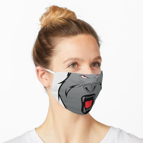 Schreiender Kong Maske