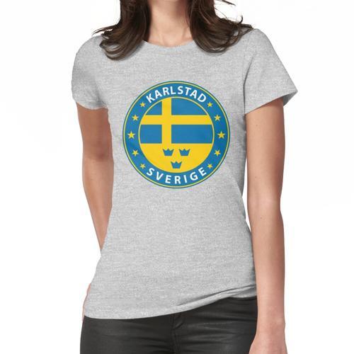 Karlstad, Karlstad Schweden, Karlstad Schweden, Karlstad Aufkleber, Stadt von Schwede Frauen T-Shirt