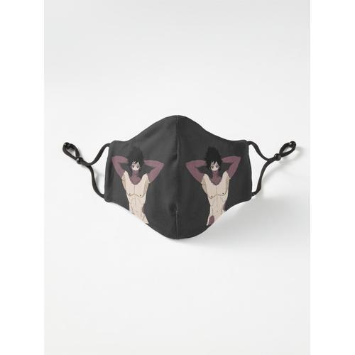 Nackter Oberkörper Dabi Maske