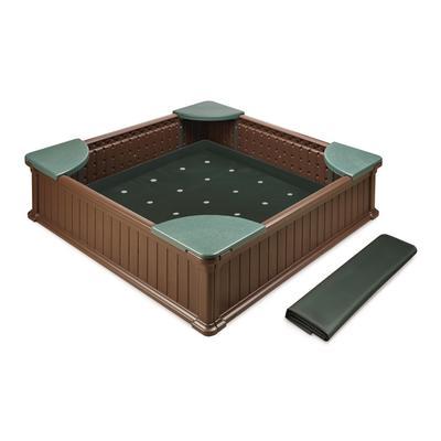 Woodland 2IninIn1 Sandbox and Garden Planter - Badger Basket 99894