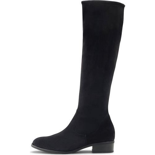 Peter Kaiser, Veloursleder-Stiefel Heta in schwarz, Stiefel für Damen Gr. 42