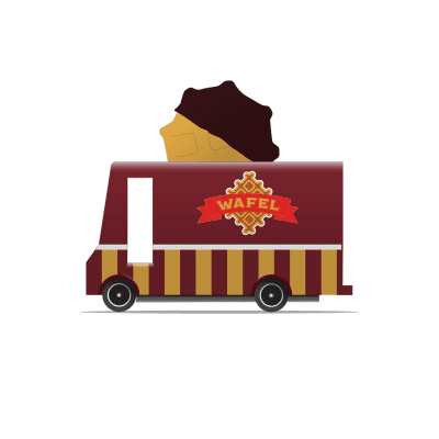 Candylab - Waffle Van Toy - One ...