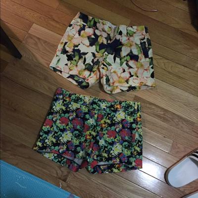 J. Crew Shorts   J Crew Shorts Bundle   Color: Black/Orange   Size: 2