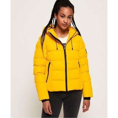 Spirit Sports Puffer - Yellow - Superdry Jackets