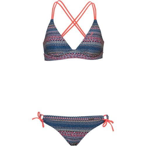 Protest Bikini Set Damen in ground blue, Größe L