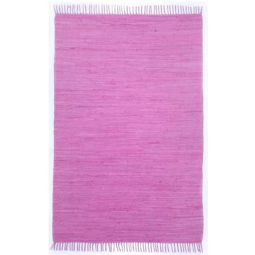 Handwebteppich Ulli Theko®die Markenteppiche Lila