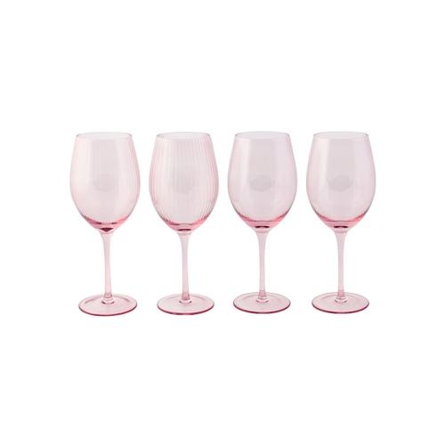 Glas-Set, 4-tlg. IMPRESSIONEN living rosé, Weinglas-Set