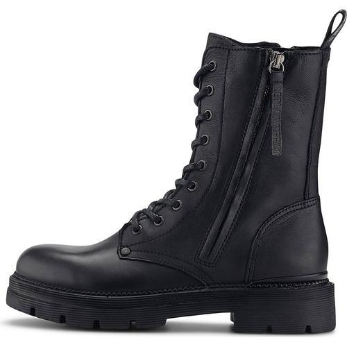 Replay, Schnür-Boots Pamela - Standing in schwarz, Boots für Damen Gr. 41