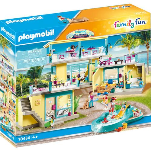 PLAYMOBIL® Family Fun 70434 PLAYMO Beach Hotel, bunt