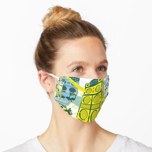 Reggae-Soundsysteme Maske