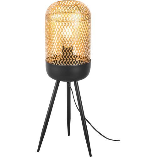 Nino Leuchten Stehlampe Fargo, E27, 1 St., Stehleuchte goldfarben Standleuchten Stehleuchten Lampen
