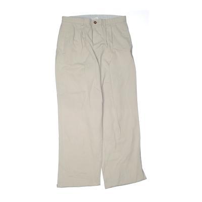 Arrow Khaki Pant: Ivory Solid Bo...