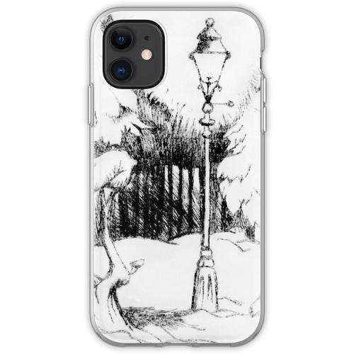 Laternenpfahl (Plexiglasgravur) Flexible Hülle für iPhone 11