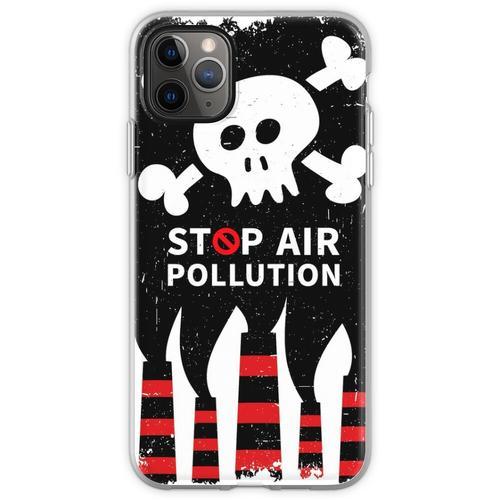 Luftverschmutzung stoppen Flexible Hülle für iPhone 11 Pro Max