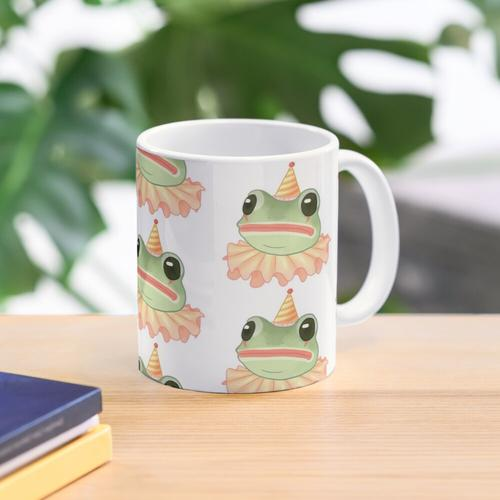 Clown Frosch Tasse