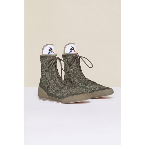 Patou Bestickte High-Top-Sneaker