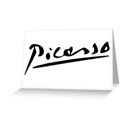 picasso Grußkarte & Postkarte