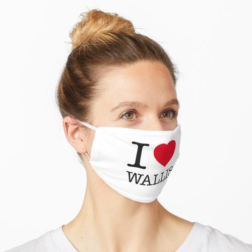 I LOVE WALLIS Maske