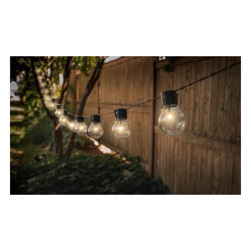 Lichterkette mit 10 Solarlampen: 2