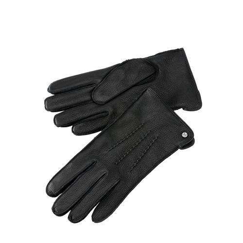 Mey & Edlich Herren Manufaktur-Ziegenlederhandschuhe schwarz L, M, XL