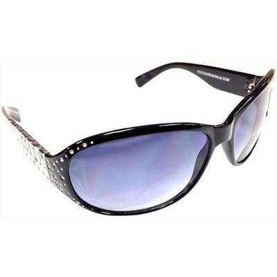 Infini Womens Rhinestones Wrap Sun Reading Glasses