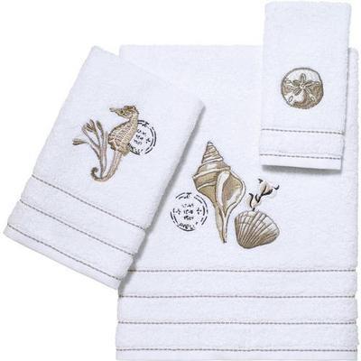 Avanti Farmhouse Shell Towel Collection