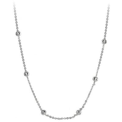 Signature 16'' Sterling Silver Cup Chain Necklace