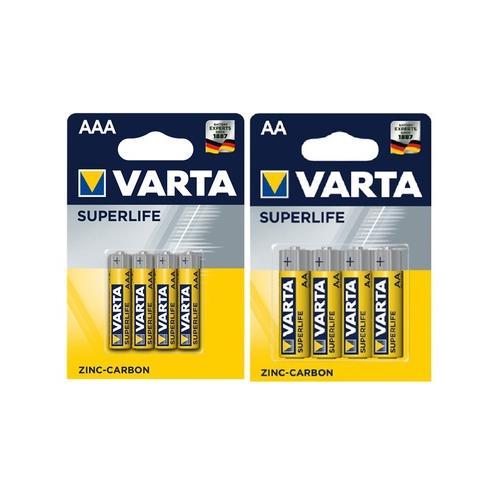 Varta: 16 AAA- und 16 AA-Batterien
