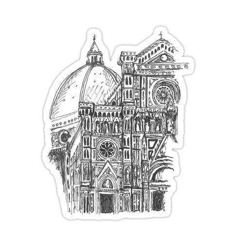 Florence Dome Sticker