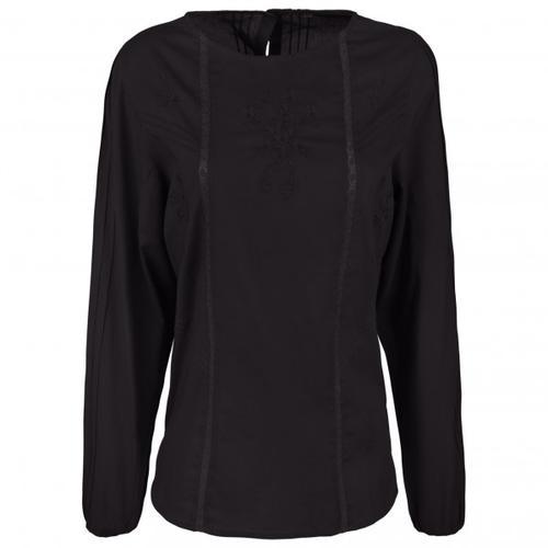 Alprausch - Women's Alpewunder Shirt - Bluse Gr L;M;XL;XS schwarz;grau/weiß