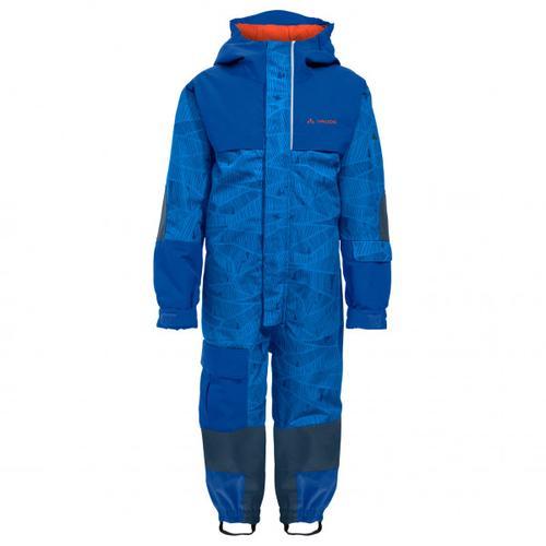 Vaude - Kid's Snow Cup Overall AOP - Overall Gr 104 blau