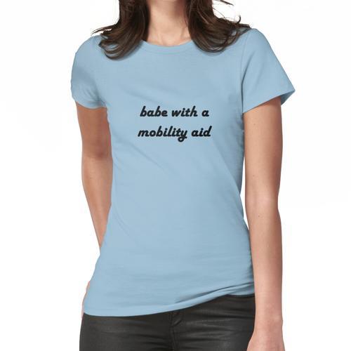 Baby mit einer Mobilitätshilfe Frauen T-Shirt