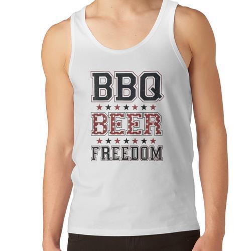 Grill Bier Freiheit, Grill, Freiheit, Grill Bier Freiheit Kerl, Grill Bier Freiheit Unisex-Tanktop