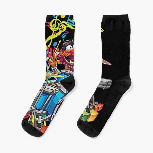 Animal Drummer Socken